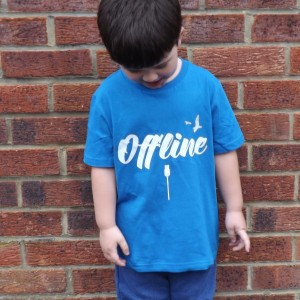 Digital detox kid's t-shirt