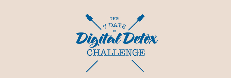 digital detox challenge header