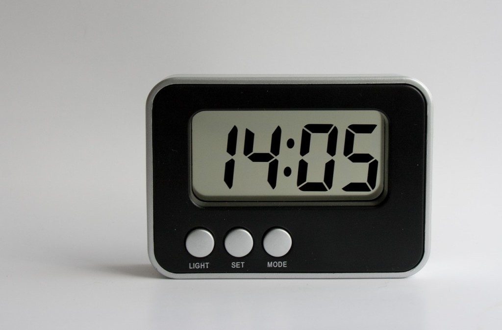 alarm clock digital detox