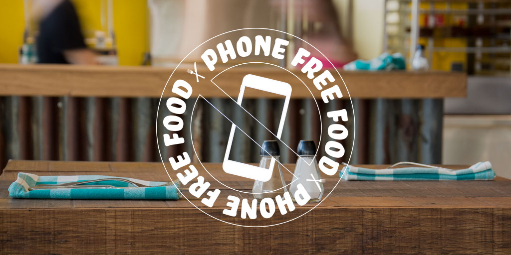 Phone Free Food Digital Detox Challenge