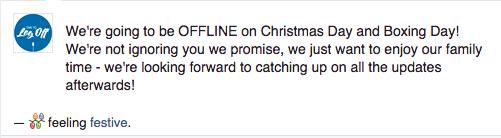 Digital Detox Challenge Facebook Status