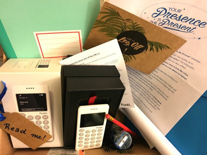 Picture of the digital detox kit