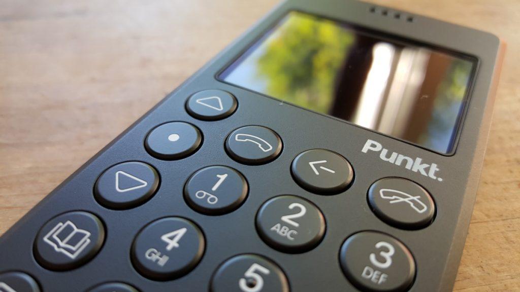 Punkt MP01 digital detox phone