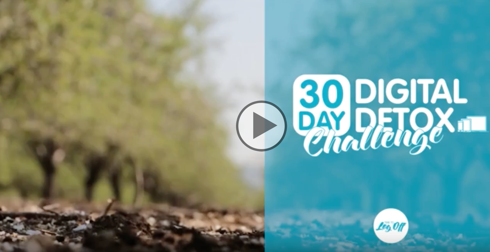digital detox 30 day challenge