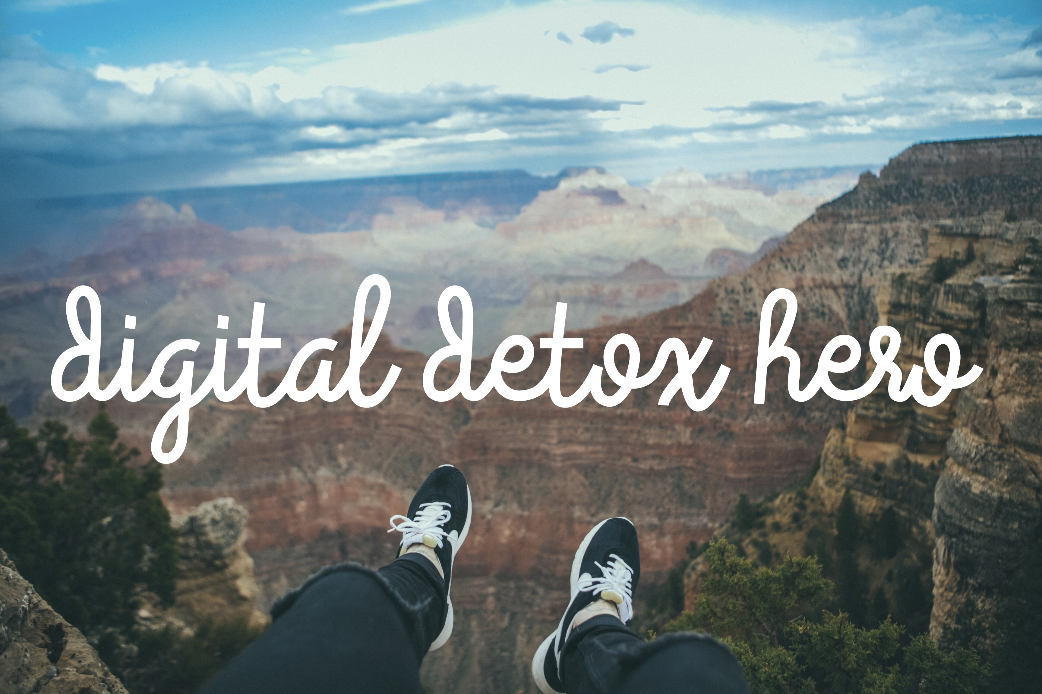 Digital Detox Heroes - Time To Log Off Instagram Takeover