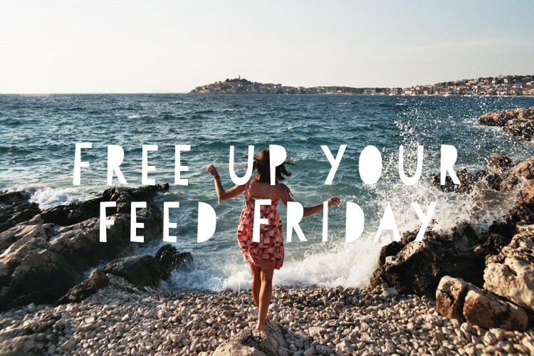 Free Up Your Feed Friday Challenge