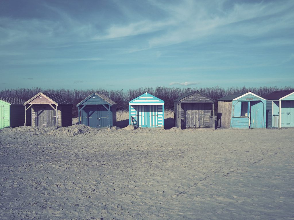 Get Off Screens: Wittering huts - Matt Holland Photography