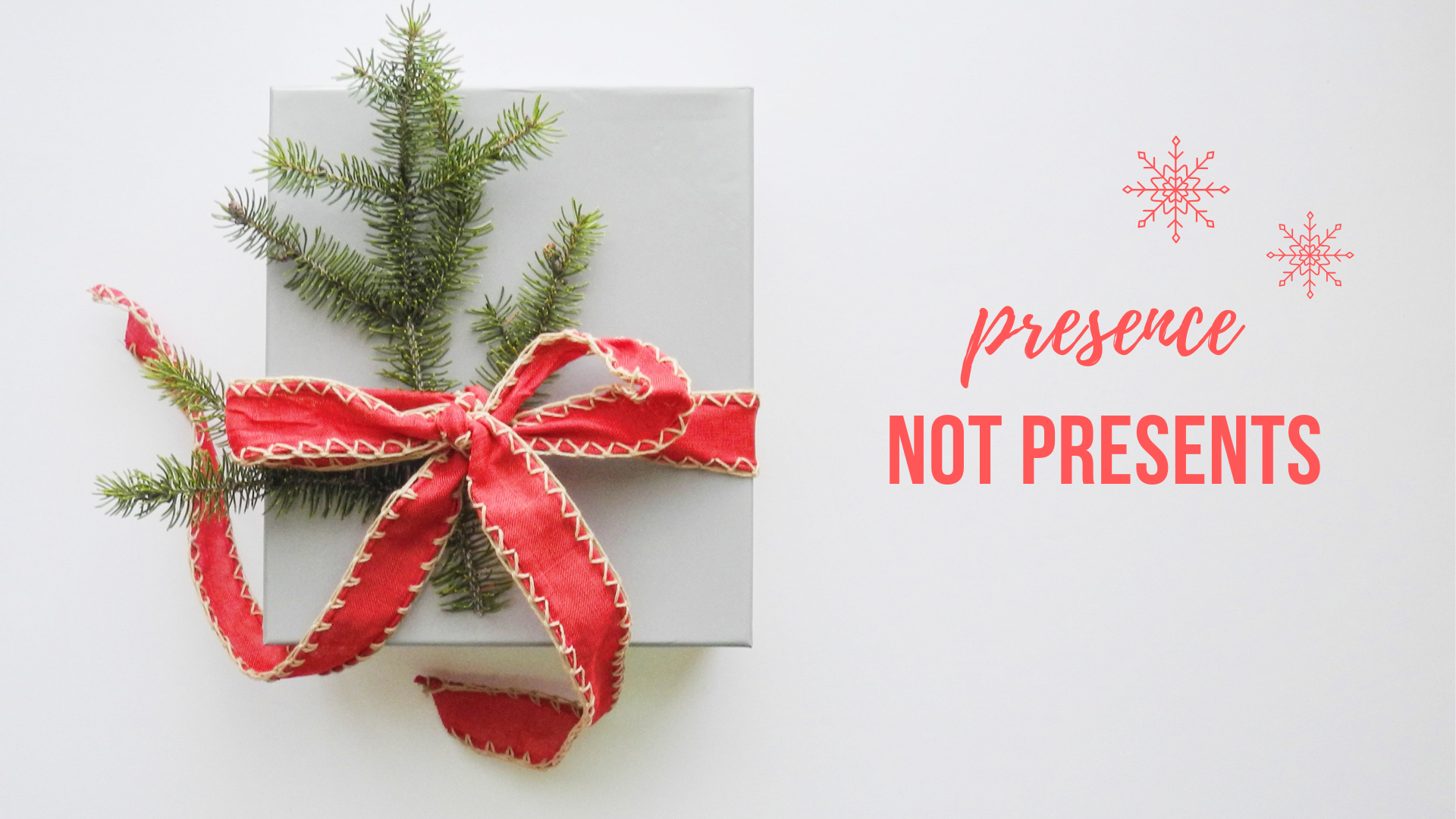Presence, not presents - digital detox Christmas challenge