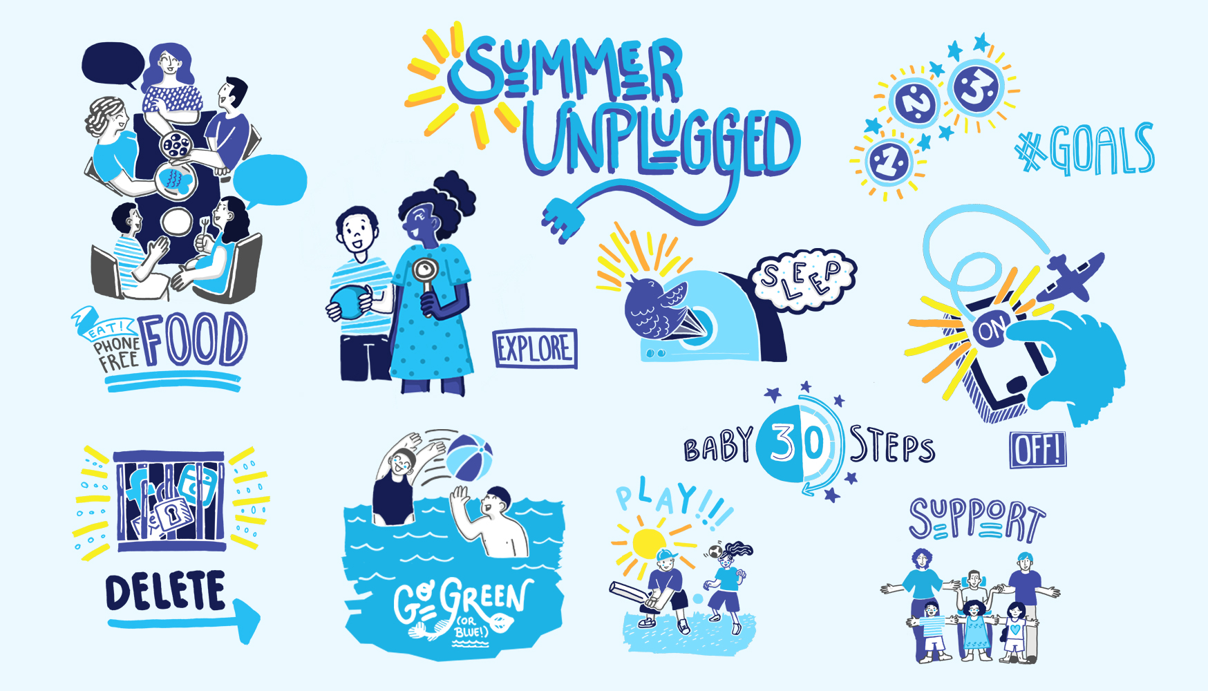 Summer Unplugged Digital Detox Challenge 2019