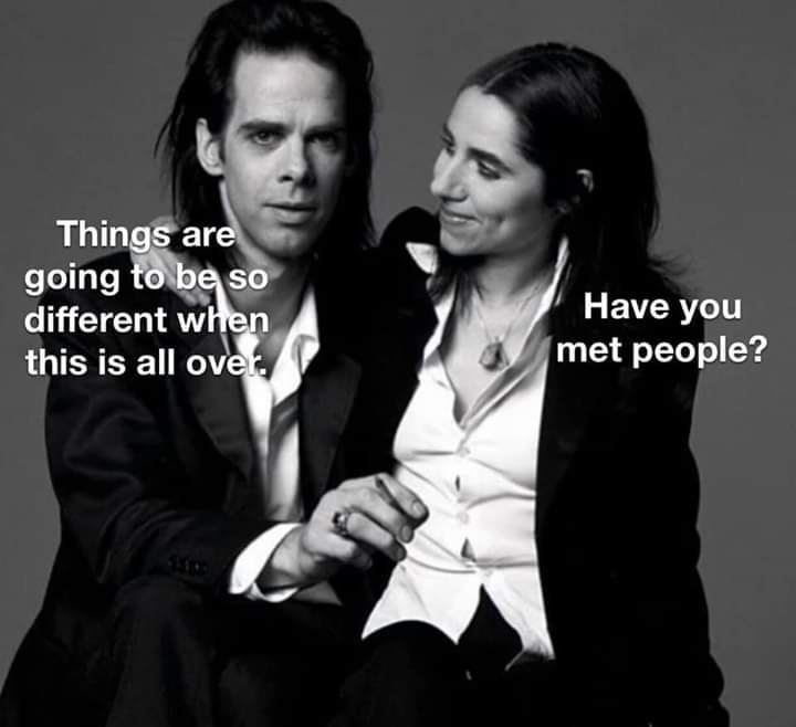 It S Complicated Digital Detox Podcast Nick Cave And The Bad Memes