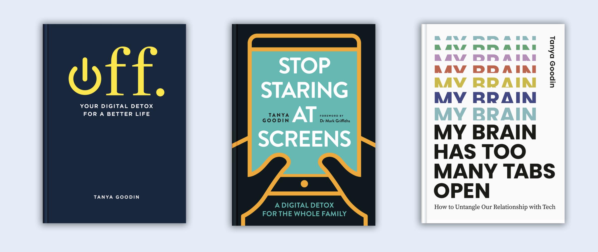digital detox books by Tanya Goodin